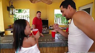 Teen destruction hd and old man hairy vintage Holly