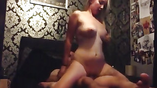 Busty Blonde Awesome Sextape