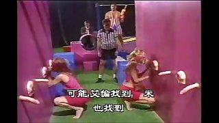 Blowjob Contest cumshot vintage milf blonde