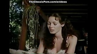Annette Haven, Randy West in sexy lingerie babe in classic xxx footage