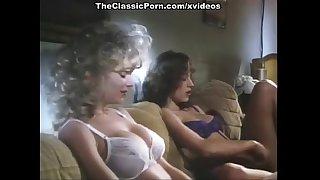 Crystal Wilder, Nikki Dial, Jon Dough in vintage xxx movie