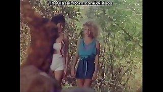Kristara Barrington, Honey Wilder, Herschel Savage in vintage fuck movie