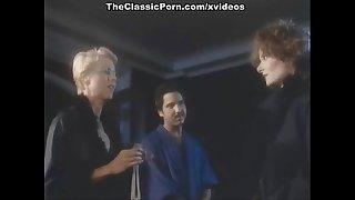 Juliet Anderson, Ron Jeremy, Veronica Hart in vintage xxx video