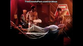 Annette Haven, Lisa De Leeuw, Veronica Hart in vintage porn clip